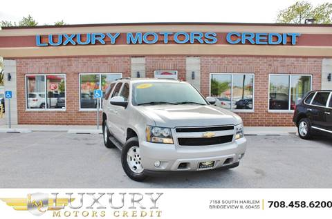 2007 Chevrolet Tahoe for sale at Luxury Motors Credit Inc in Bridgeview IL