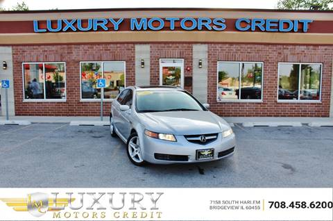 2006 Acura TL for sale at Luxury Motors Credit Inc in Bridgeview IL