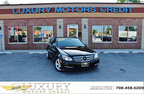 2011 Mercedes-Benz C-Class for sale at Luxury Motors Credit Inc in Bridgeview IL