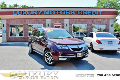 2013 Acura MDX for sale at Luxury Motors Credit Inc in Bridgeview IL