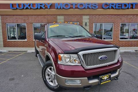 2004 Ford F-150 for sale at Luxury Motors Credit Inc in Bridgeview IL