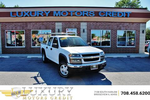 2007 Chevrolet Colorado for sale at Luxury Motors Credit Inc in Bridgeview IL