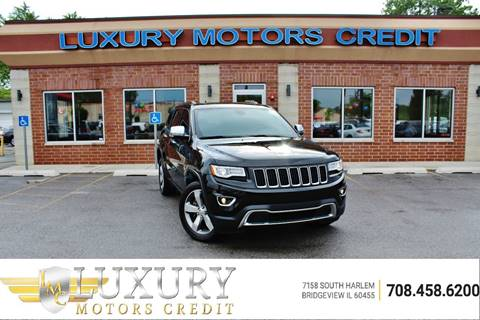 2014 Jeep Grand Cherokee for sale at Luxury Motors Credit Inc in Bridgeview IL