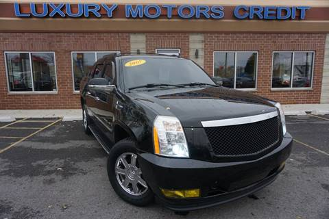 2007 Cadillac Escalade EXT for sale at Luxury Motors Credit Inc in Bridgeview IL