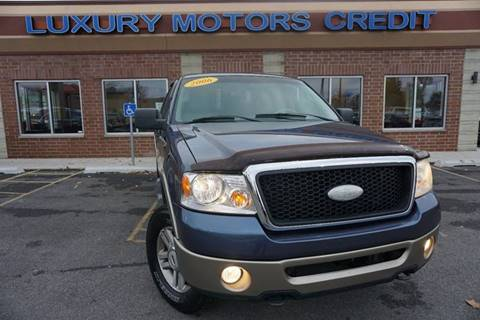 2006 Ford F-150 for sale at Luxury Motors Credit Inc in Bridgeview IL