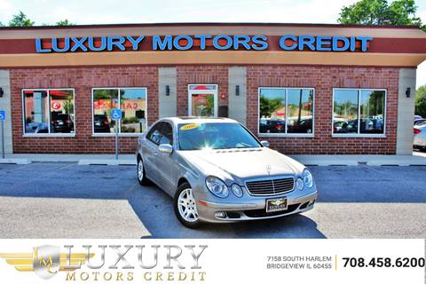 2006 Mercedes-Benz E-Class for sale at Luxury Motors Credit Inc in Bridgeview IL
