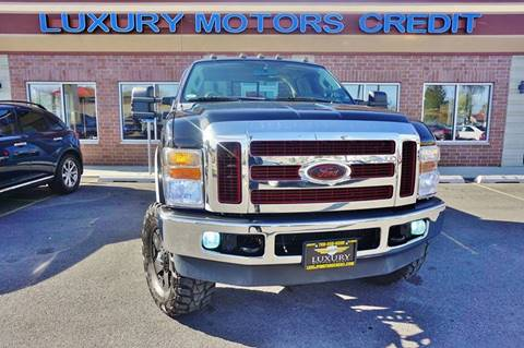 2008 Ford F-250 Super Duty for sale at Luxury Motors Credit Inc in Bridgeview IL