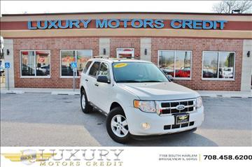 2009 Ford Escape for sale at Luxury Motors Credit Inc in Bridgeview IL