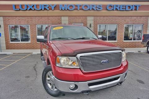 2007 Ford F-150 for sale at Luxury Motors Credit Inc in Bridgeview IL