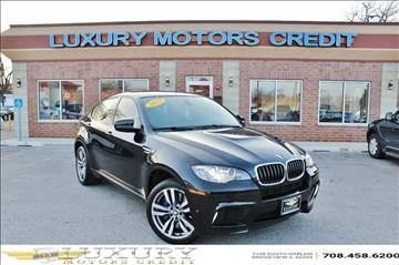 2013 BMW X6 M for sale at Luxury Motors Credit Inc in Bridgeview IL