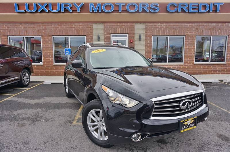 2012 infiniti fx35 awd limited edition 4dr suv in for Luxury motors bridgeview il
