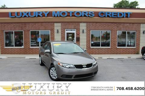 2010 Kia Forte for sale at Luxury Motors Credit Inc in Bridgeview IL