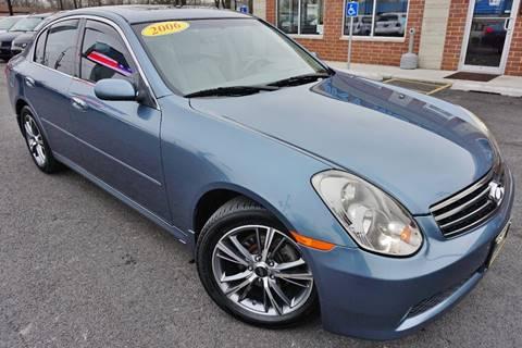 2005 Infiniti G35 for sale at Luxury Motors Credit Inc in Bridgeview IL