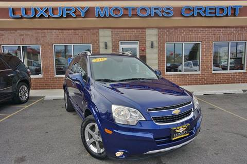 2013 Chevrolet Captiva Sport for sale at Luxury Motors Credit Inc in Bridgeview IL