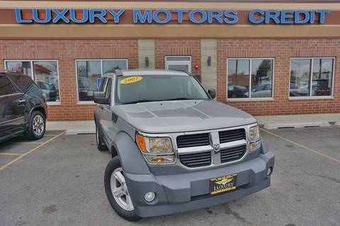 2007 Dodge Nitro for sale at Luxury Motors Credit Inc in Bridgeview IL