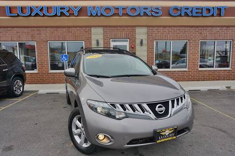 2010 Nissan Murano for sale at Luxury Motors Credit Inc in Bridgeview IL