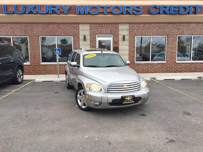 2006 Chevrolet HHR for sale at Luxury Motors Credit Inc in Bridgeview IL