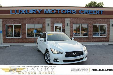 Infiniti for sale in bridgeview il for Luxury motors bridgeview il