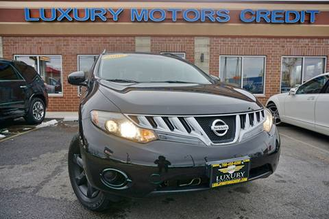 2009 Nissan Murano for sale at Luxury Motors Credit Inc in Bridgeview IL