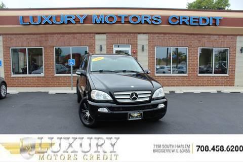 2003 Mercedes-Benz M-Class for sale in Bridgeview, IL