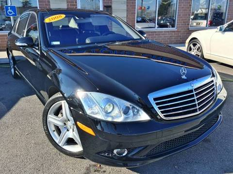 2008 Mercedes-Benz S-Class for sale at Luxury Motors Credit Inc in Bridgeview IL