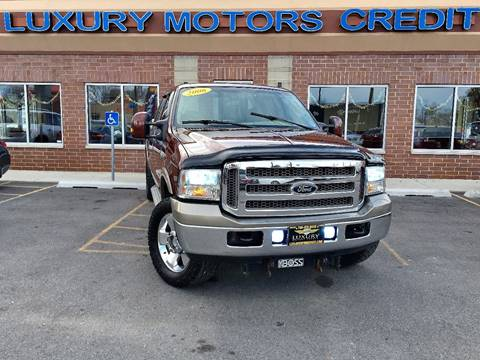 2006 Ford F-250 Super Duty for sale at Luxury Motors Credit Inc in Bridgeview IL
