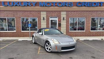 2004 Nissan 350Z for sale at Luxury Motors Credit Inc in Bridgeview IL