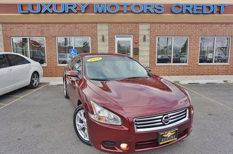 2013 Nissan Maxima for sale at Luxury Motors Credit Inc in Bridgeview IL