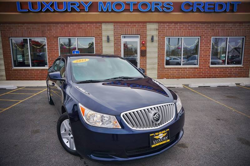2011 buick lacrosse cx 4dr sedan in bridgeview il luxury for Luxury motors bridgeview il