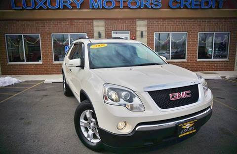 2008 GMC Acadia for sale at Luxury Motors Credit Inc in Bridgeview IL