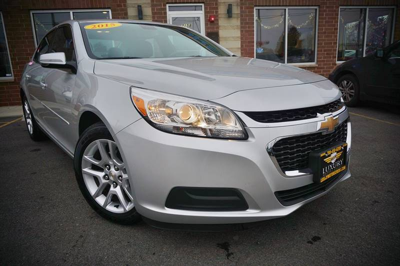 2015 chevrolet malibu lt 4dr sedan w 1lt in bridgeview il for Luxury motors bridgeview il