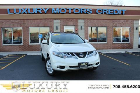 Nissan murano for sale in bridgeview il for Luxury motors bridgeview il