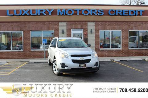 Used chevrolet equinox for sale in bridgeview il for Luxury motors bridgeview il