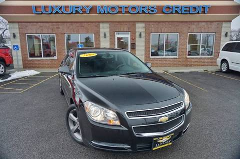 2008 Chevrolet Malibu for sale at Luxury Motors Credit Inc in Bridgeview IL