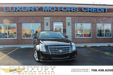 2009 cadillac cts for sale in illinois for Luxury motors bridgeview il