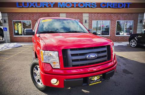 2009 Ford F-150 for sale at Luxury Motors Credit Inc in Bridgeview IL