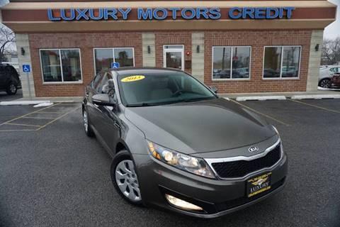 2013 Kia Optima for sale at Luxury Motors Credit Inc in Bridgeview IL