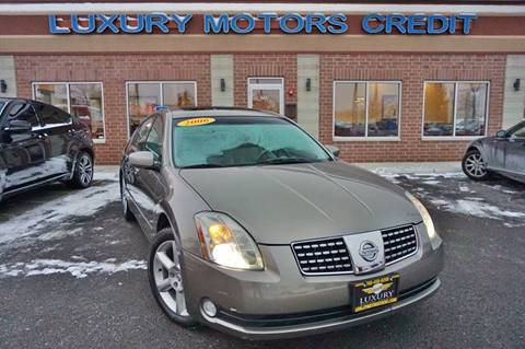 2006 Nissan Maxima for sale at Luxury Motors Credit Inc in Bridgeview IL