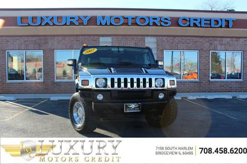 2007 HUMMER H2 for sale at Luxury Motors Credit Inc in Bridgeview IL