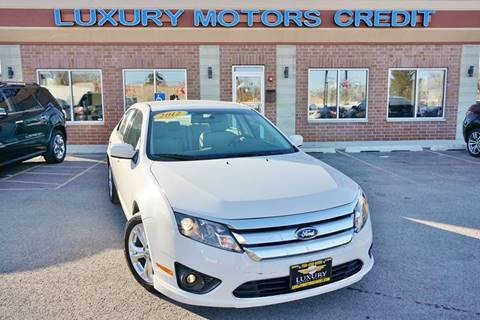 2012 Ford Fusion for sale at Luxury Motors Credit Inc in Bridgeview IL