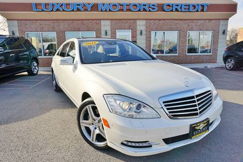 2011 Mercedes-Benz S-Class for sale at Luxury Motors Credit Inc in Bridgeview IL