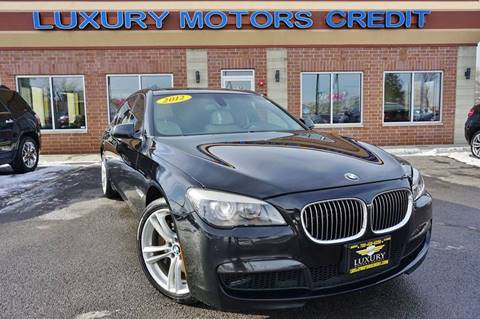 2012 BMW 7 Series for sale at Luxury Motors Credit Inc in Bridgeview IL
