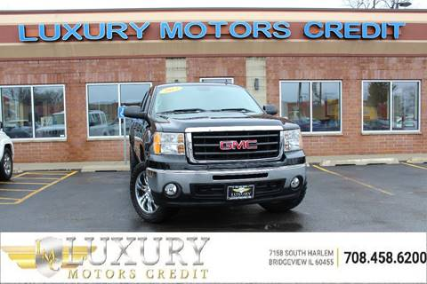 Used 2013 gmc sierra 1500 for sale in illinois for Luxury motors bridgeview il