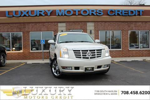 Used 2007 cadillac escalade for sale in illinois for Luxury motors bridgeview il