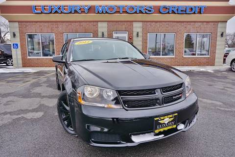2014 Dodge Avenger for sale at Luxury Motors Credit Inc in Bridgeview IL