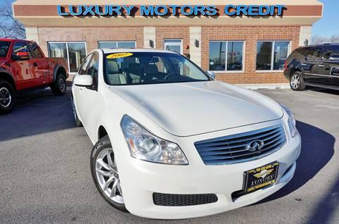 2007 Infiniti G35 for sale at Luxury Motors Credit Inc in Bridgeview IL