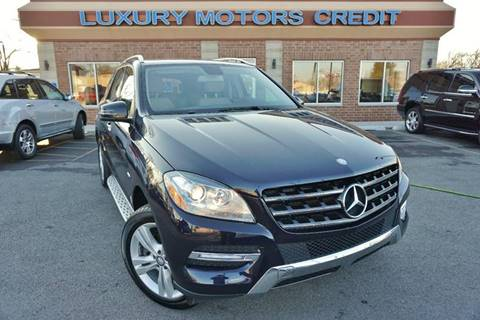 2012 Mercedes-Benz M-Class for sale at Luxury Motors Credit Inc in Bridgeview IL