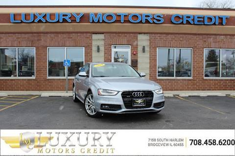 2015 Audi A4 for sale at Luxury Motors Credit Inc in Bridgeview IL