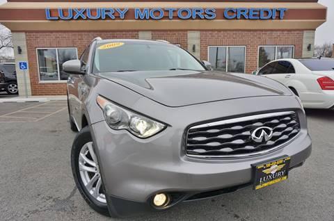 2009 Infiniti FX35 for sale at Luxury Motors Credit Inc in Bridgeview IL