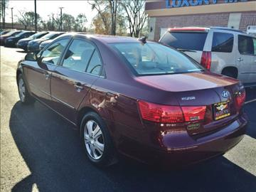 2009 Hyundai Sonata for sale at Luxury Motors Credit Inc in Bridgeview IL